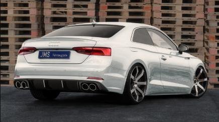 JMS-Bodykit und Cor.Speed Sports Wheels für den neuen Audi A5 B9