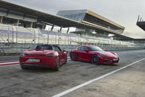 Porsche 718 Boxster GTS und 718 Cayman GTS