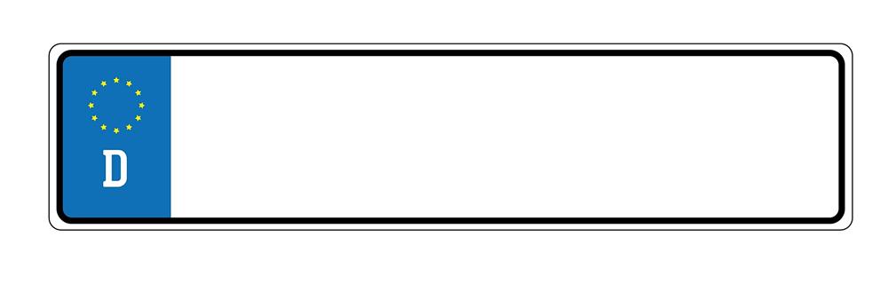 Kennzeichen im Internet bestellen