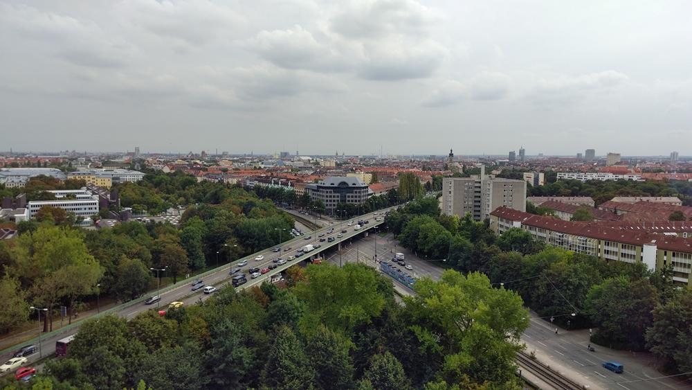 Mobil rund um München