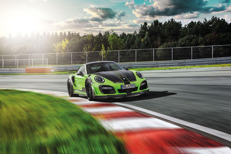 TECHART präsentiert den neuen GTstreet R auf Basis Porsche 911 Turbo S (991) und setzt erneut Maßstäbe