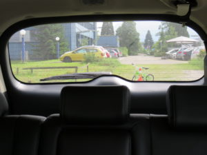 SUV Sichtfeld