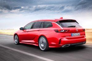 Der neue Opel Insignia GSi Sports Tourer Heck
