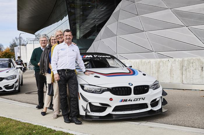 BMW M4 GT4, BMW Welt, Auslieferung, 3Y Technology