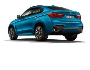 BMW X6 Heck