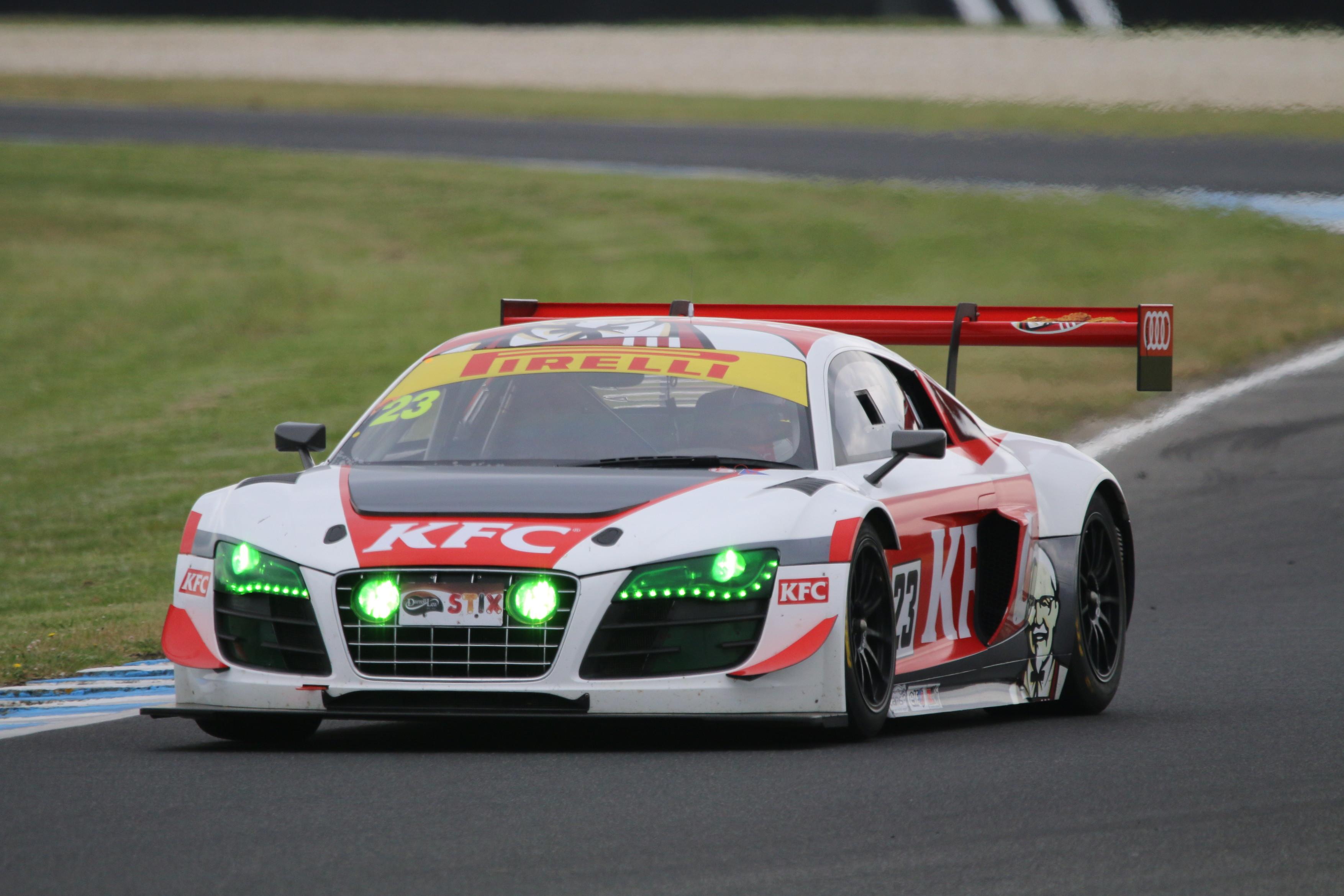 Audi R8 LMS #23 (KFC), Matt Stoupas