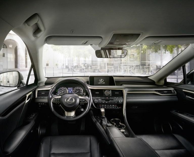 Lexus Crossover RX Innenraum