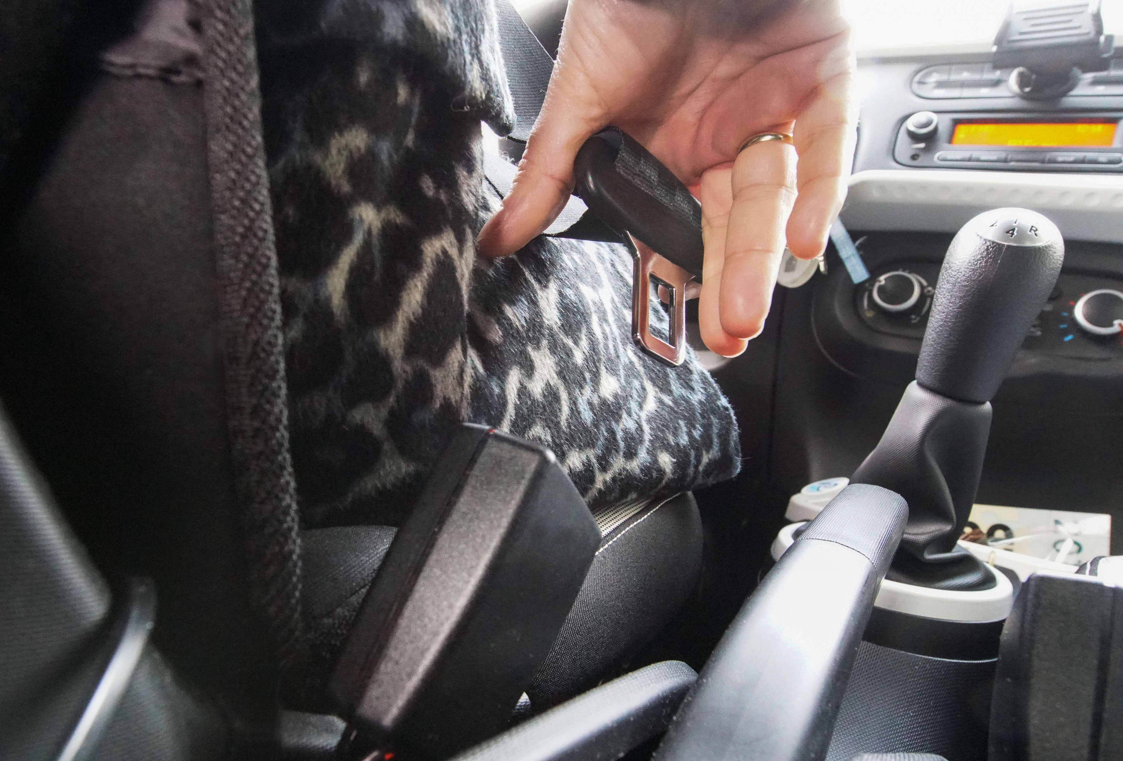 Anschnallen im Auto