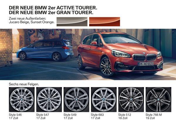 Der neue BMW 2er Active Tourer. Der neue BMW 2er Gran Tourer 18