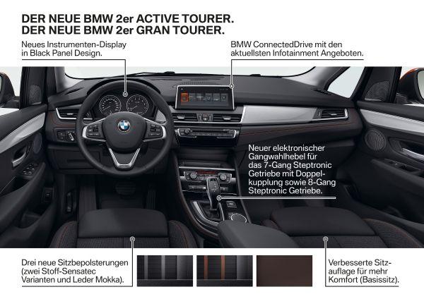 Der neue BMW 2er Active Tourer. Der neue BMW 2er Gran Tourer 2018