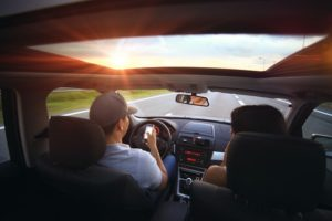Beifahrer Auto