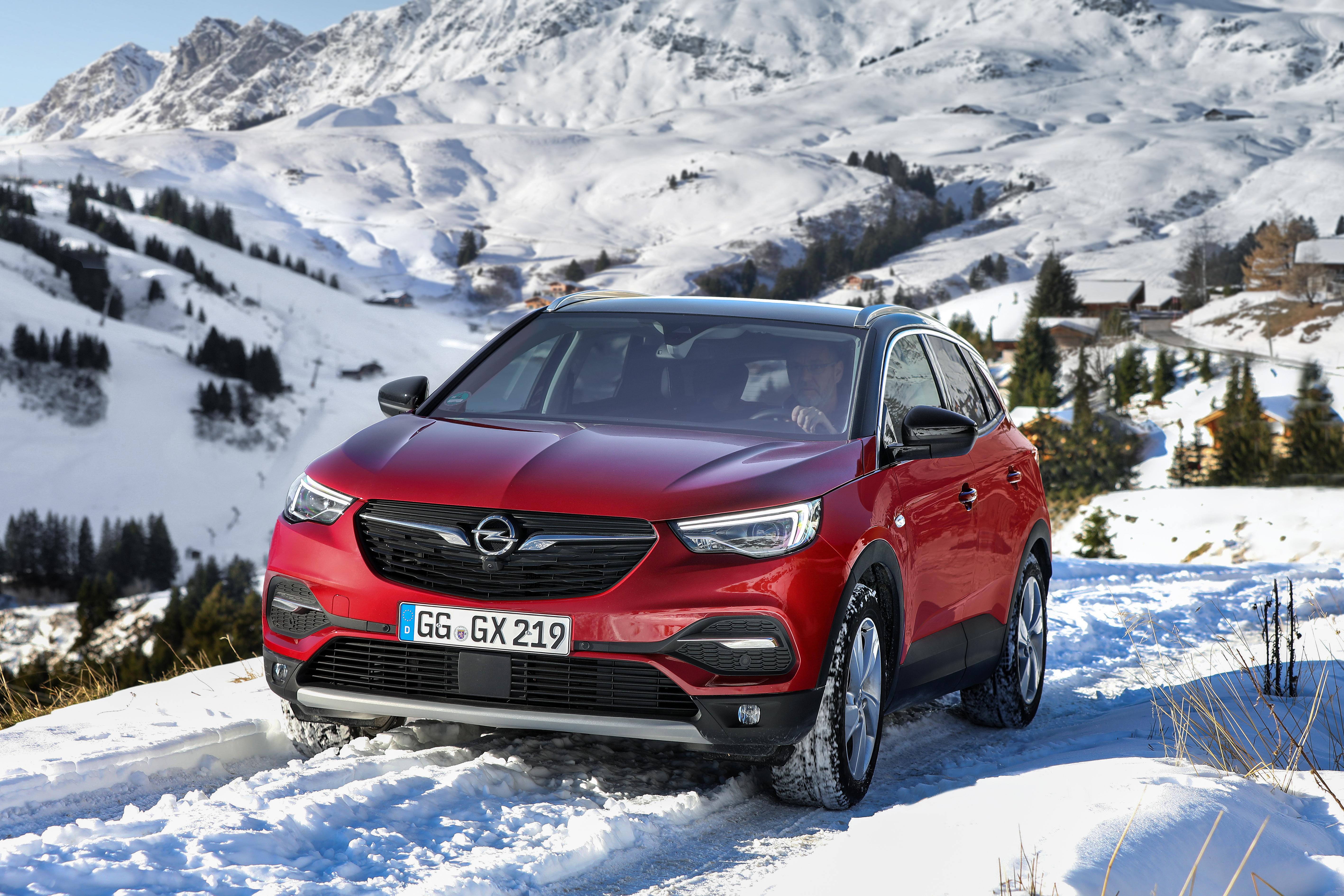 Opel Grandland X, IntelliGrip
