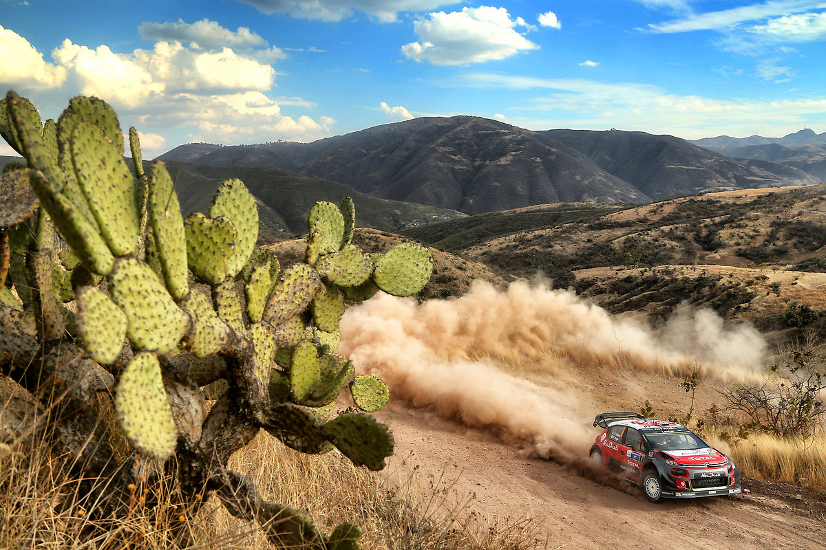 WRC Rally Citreon