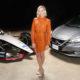 Margot Robbie präsentiert die Nissan Formula E Launch Tour