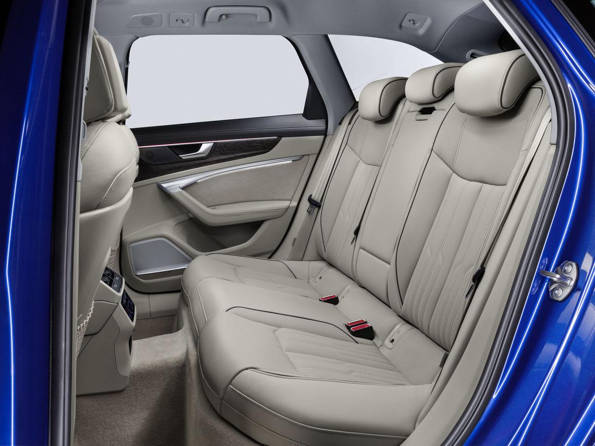 Audi A6 Avant Hinterreihe