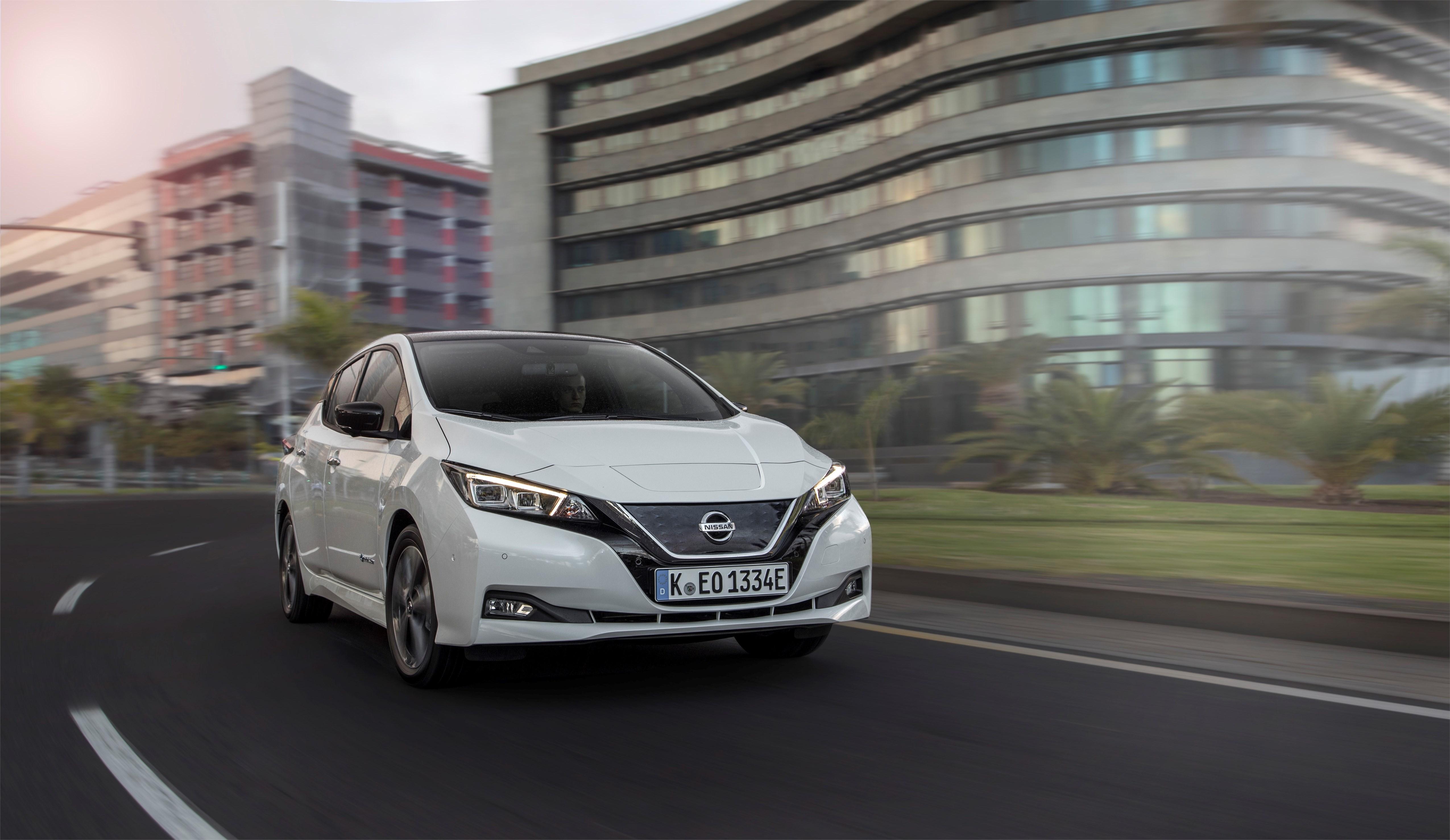 Nissan Leaf ist das World Green Car