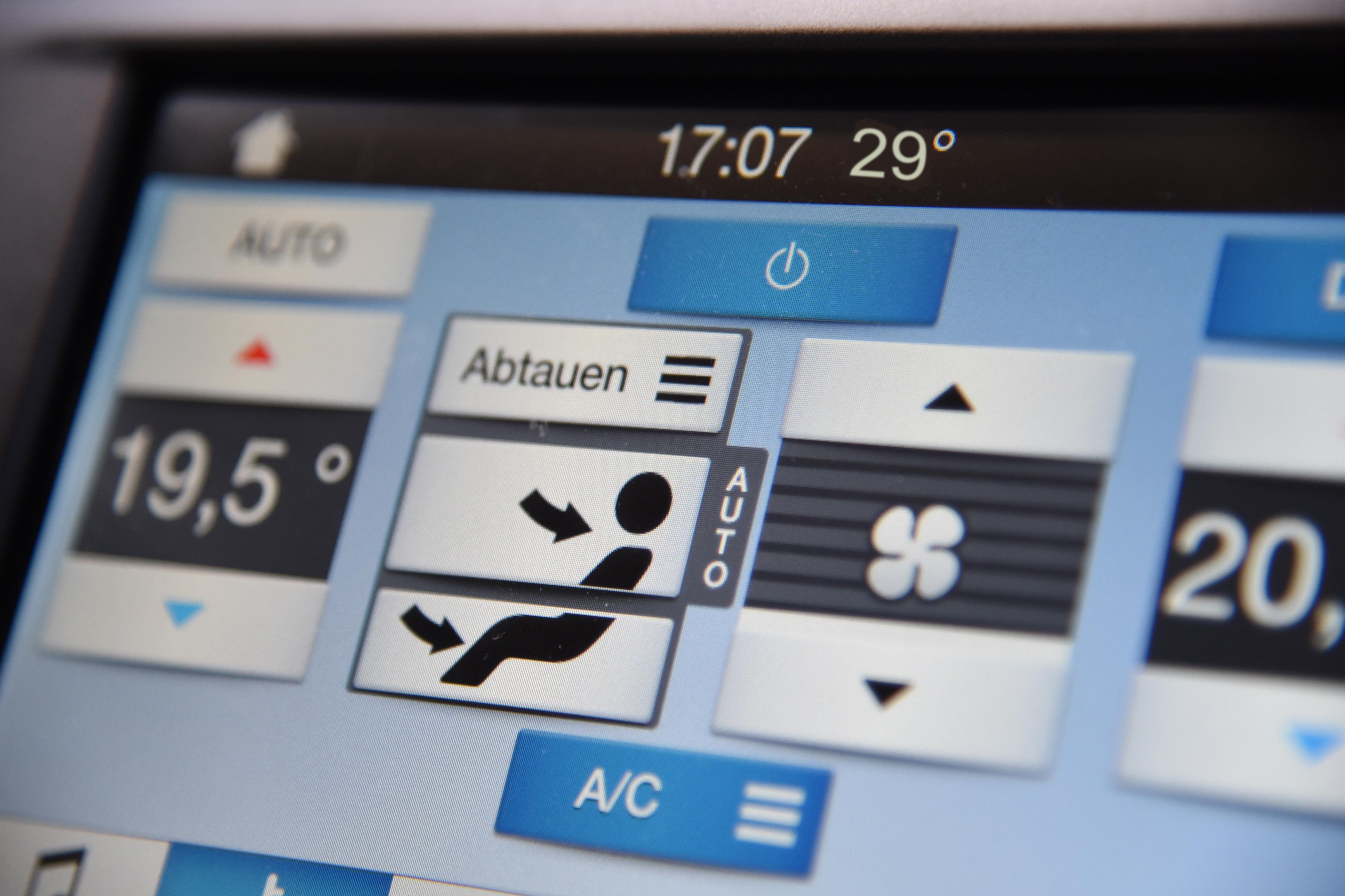 Luftqualität im Auto