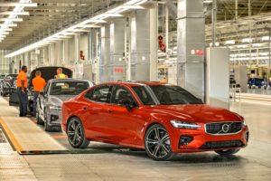 Volvo S60, US-Werk, Automobilhersteller
