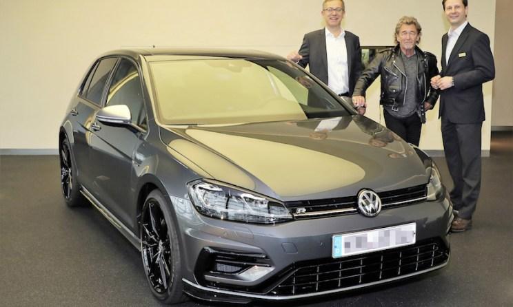Peter Maffay fährt Volkswagen Golf R1