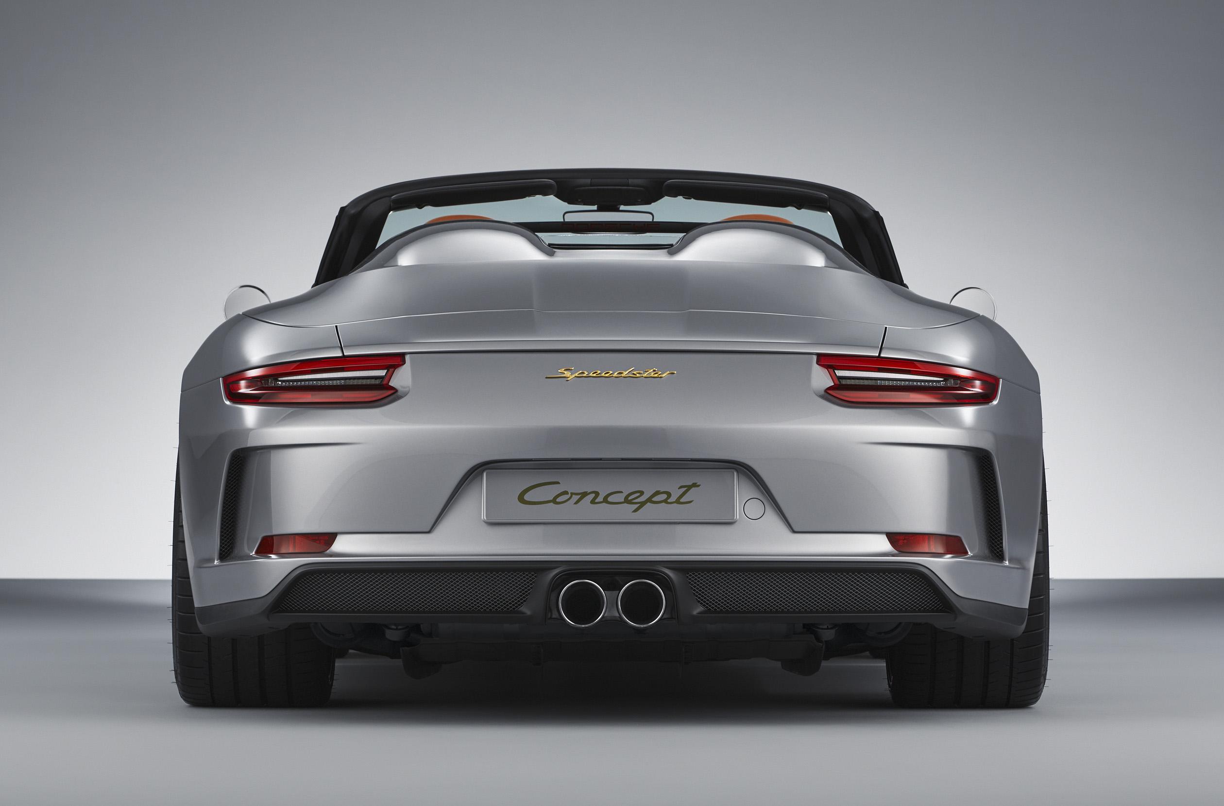Porsche, 911, Speedster, Concept Heck