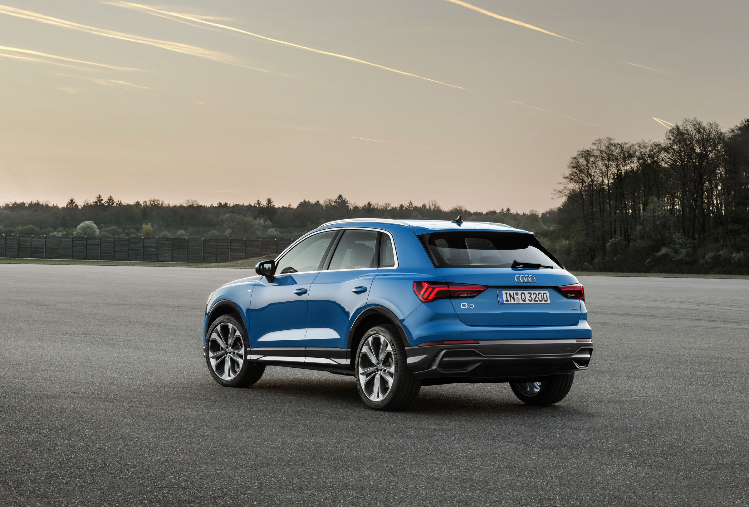 Audi Q3 Heckansicht