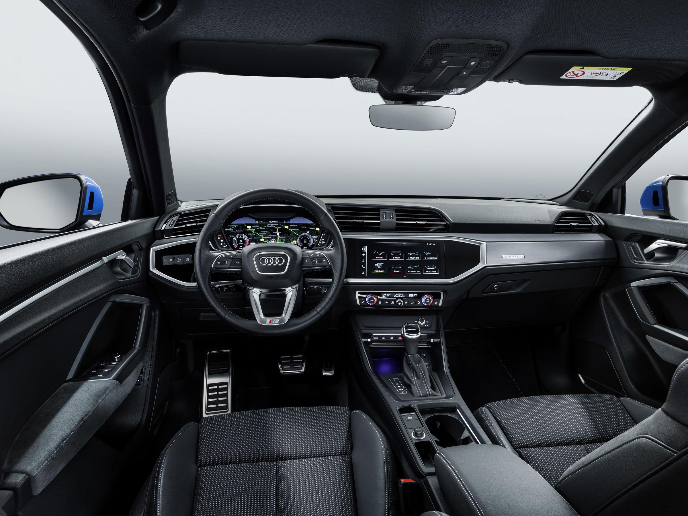 Audi Q3 Innenansicht