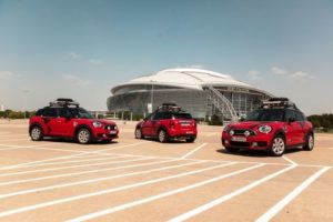 Drei MINI Cooper S E Countryman ALL4