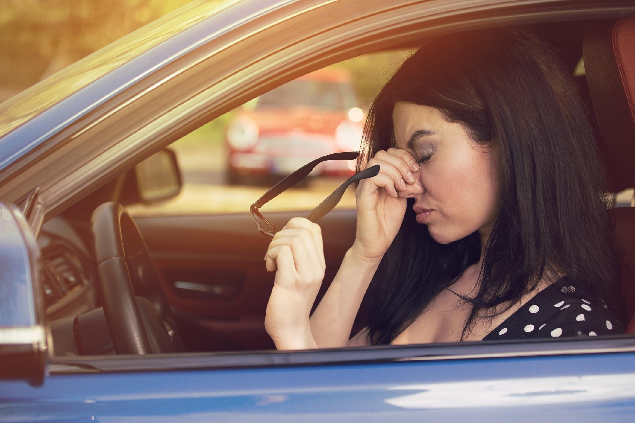Reisezeit: Dicke Luft im Auto