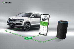 SKODA Connect Alexa