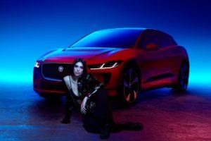 Dua Lipa und der neue Jaguar I-PACE