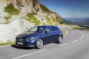 Mehr Sports für den Tourer - Die neue Mercedes-Benz B-Klasse