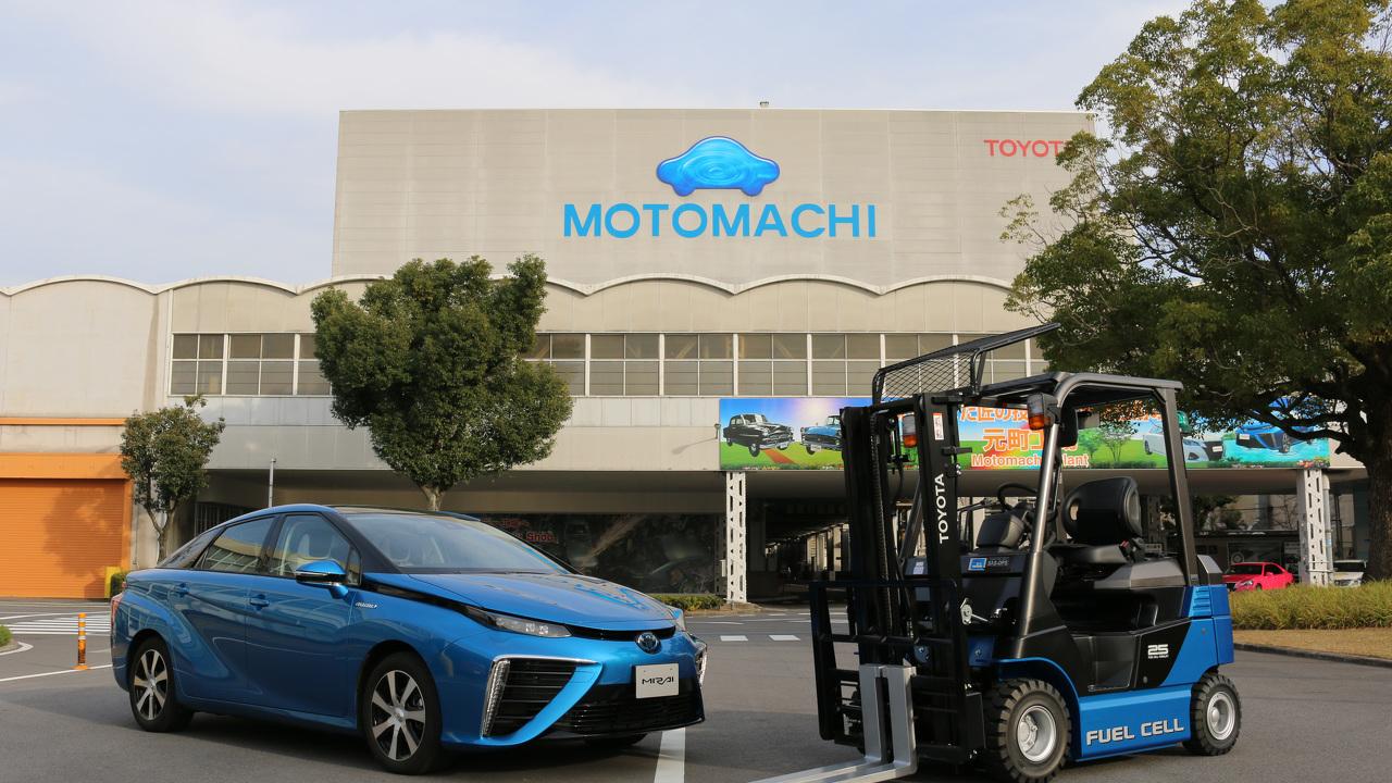Wasserstoff-Zukunft bei Toyota