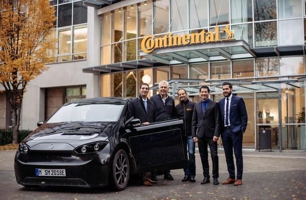 Sono Motors vergibt Großauftrag an Continental