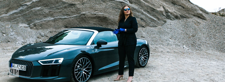 Audi R8 V10 Spyder Fahrspass par exellence