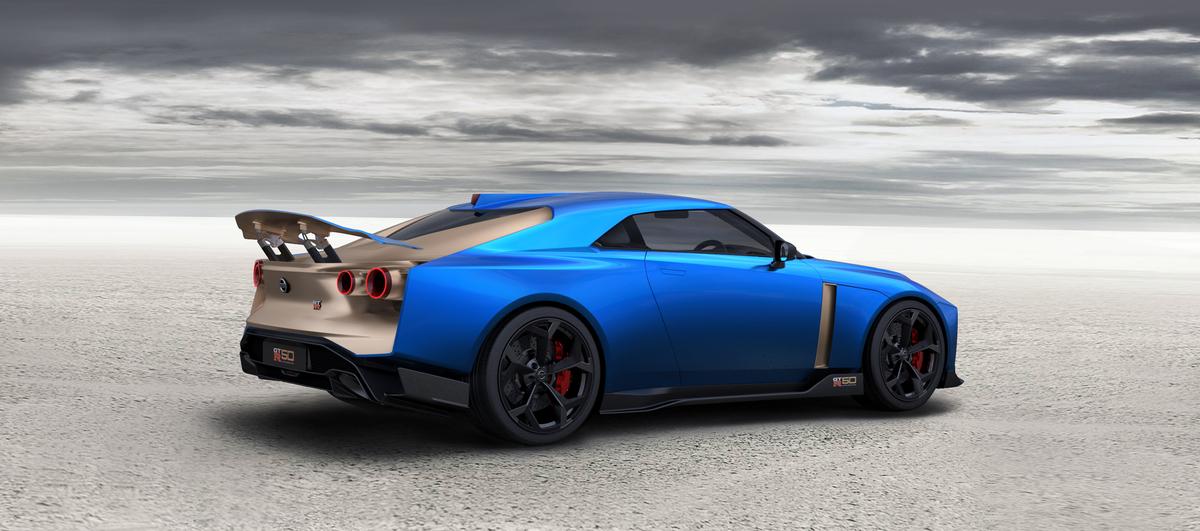 Nissan GT-R50 Heck