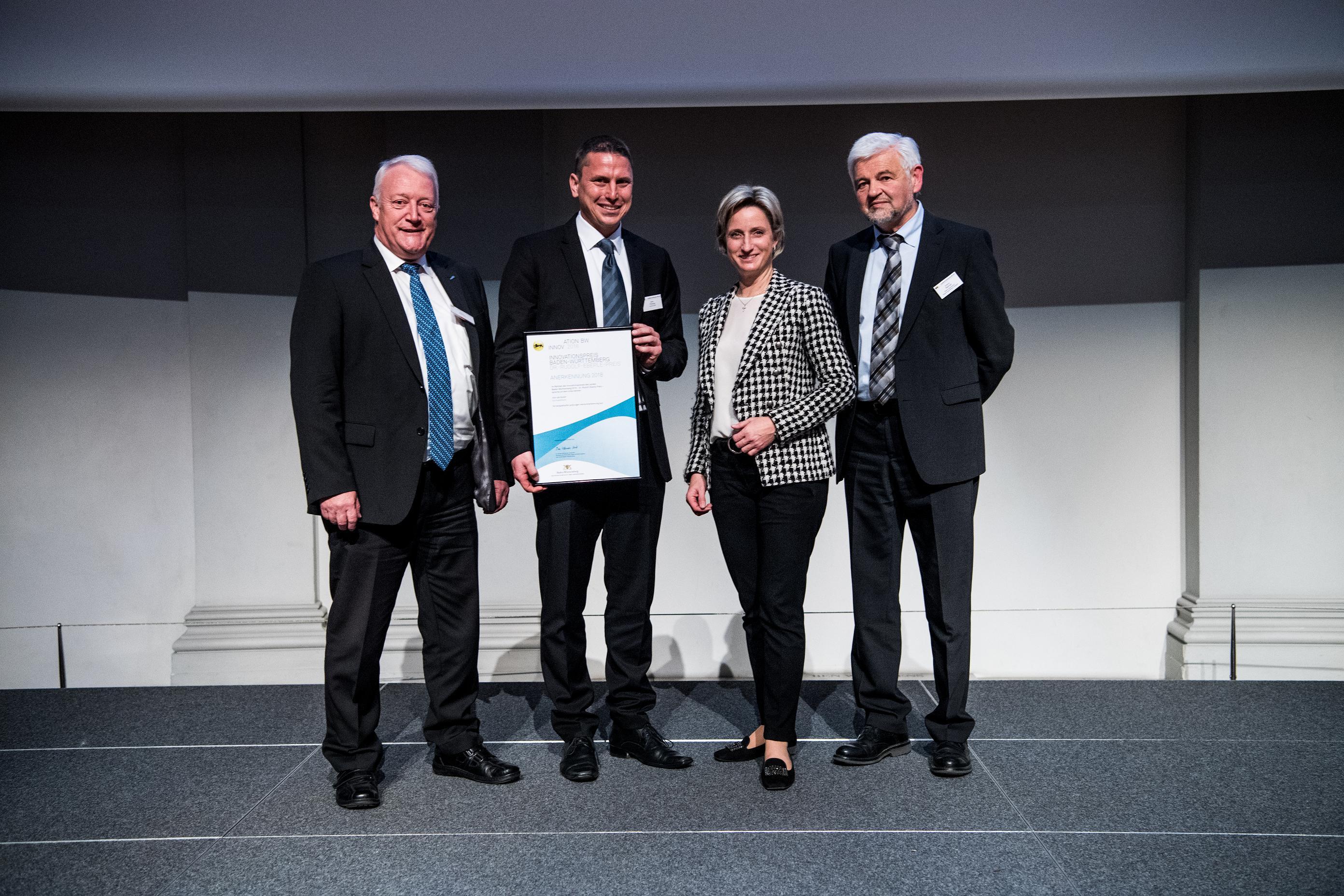 Kornwestheimer Telematik-Unternehmen wird für Innovation geehrt