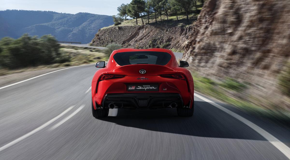 Toyota GR Supra Red