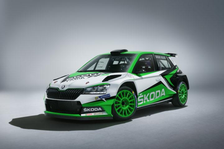Weiterentwickelter SKODA FABIA R5 tritt Erbe des erfolgreichsten Rallye-Autos seiner Kategorie an