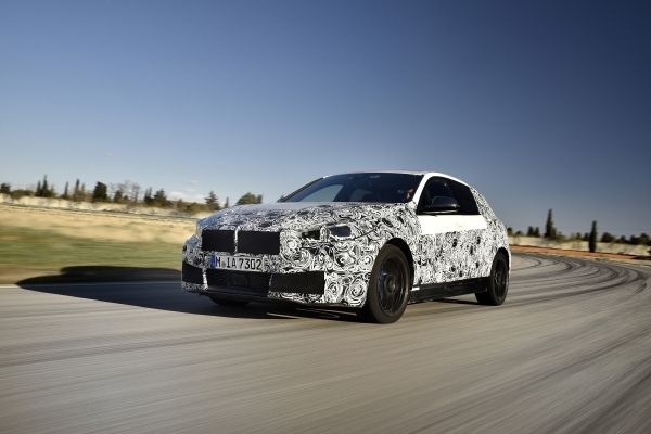Der neue BMW 1er: finale Erprobungsphase in Miramas.