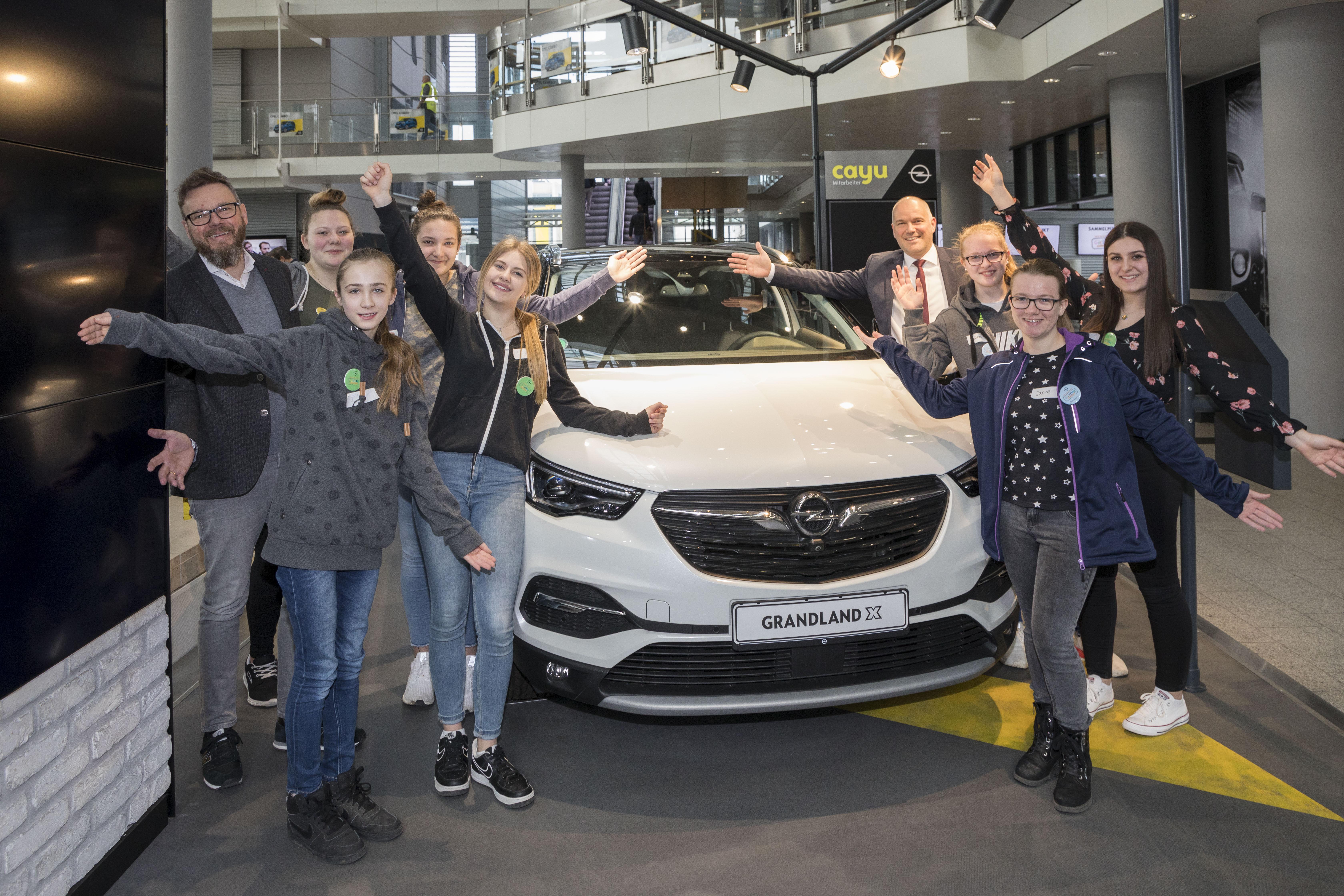 Girls' Day bei Opel: Autoentwicklung