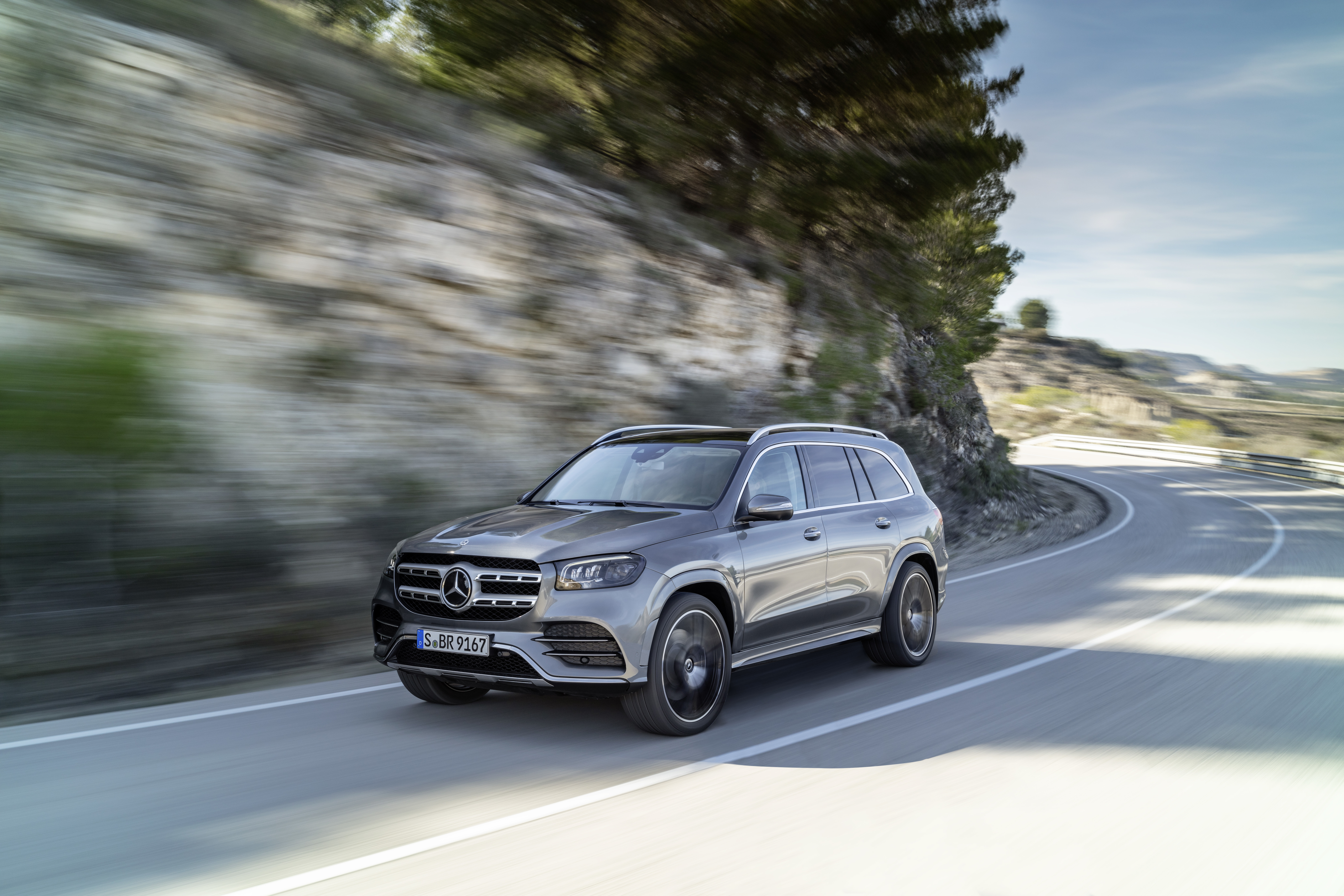Mehr Raum, mehr Komfort, mehr Luxus: Verkaufsstart für den neuen Mercedes-Benz GLS