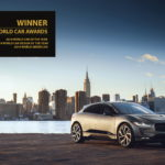 Historischer Dreifachsieg für Jaguar I-PACE* bei den World Car Awards 2019 in New York