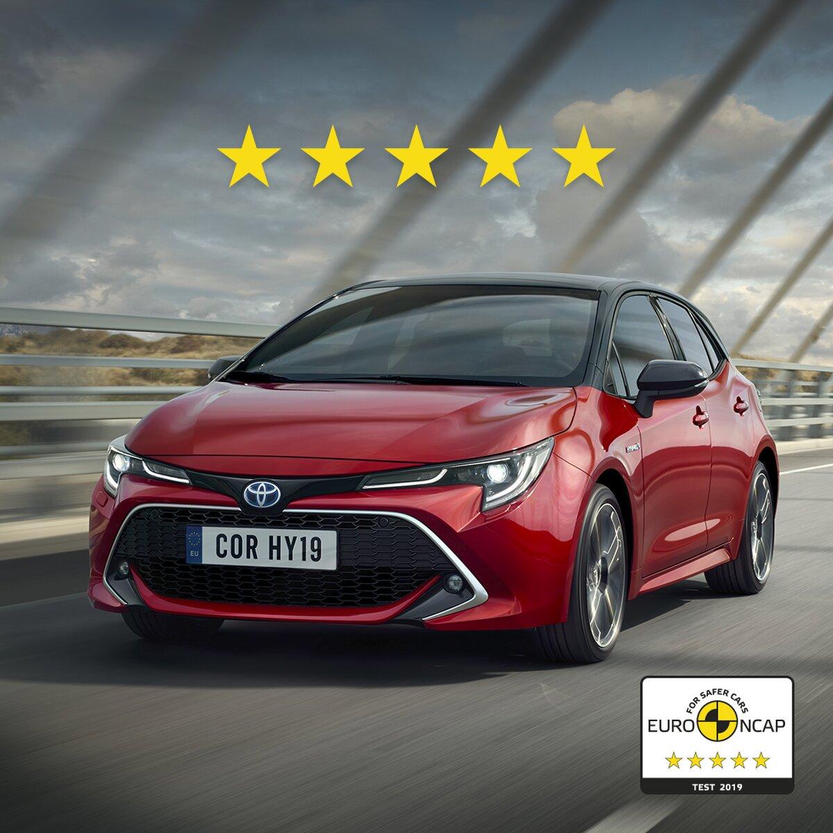 Toyota Corolla Bestwertung im Euro NCAP Crashtest
