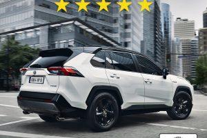 Toyota RAV4 Bestwertung im Euro NCAP Crashtest
