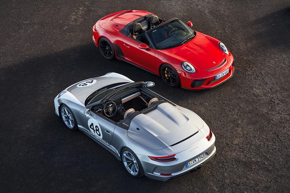 911 Speedster und 911 Speedster, Heritage Design-Paket