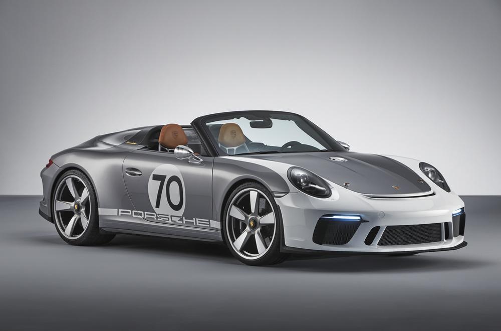 Der 911 Speedster Concept von 2018 - die Konzeptstudie geht jetzt in Serie.