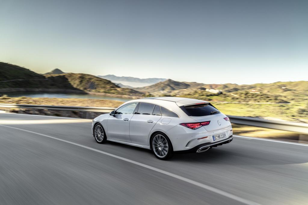 Mercedes-Benz CLA Shooting Brake, X118, 2019, AMG-Line, Exterieur, digitalweiß