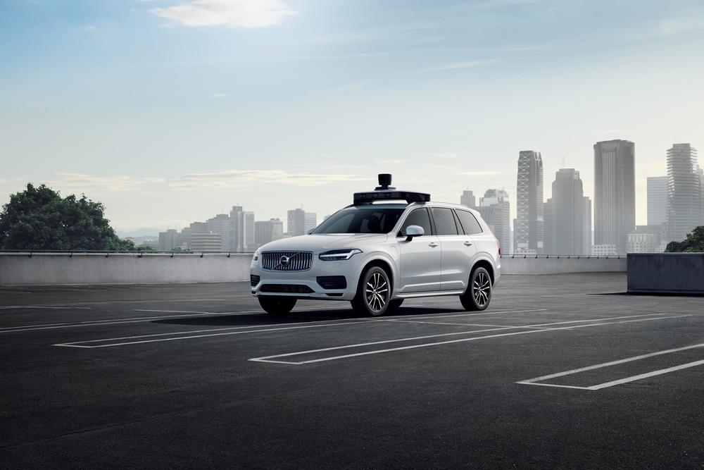 Volvo und Uber präsentieren selbstfahrendes Auto