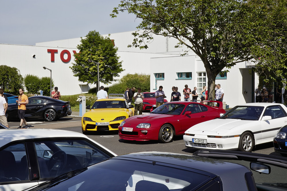 Supra Day in der Toyota Collection