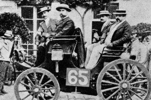 Erste Automobilwettfahrt von Paris nach Rouen, 22. Juli 1894